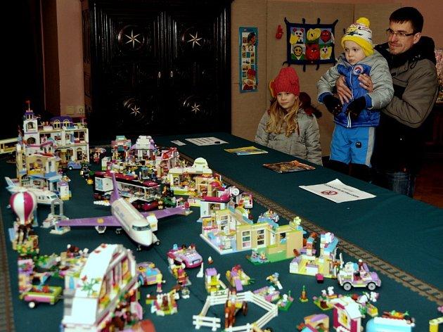Lego výstava na Červeném hrádku.