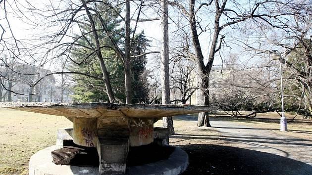 Chomutovský městský park.