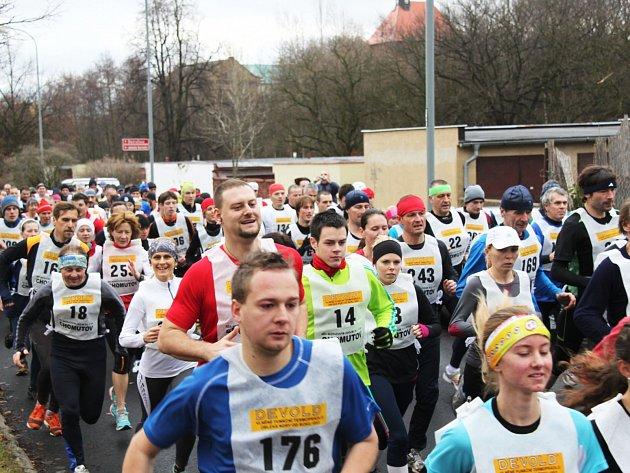 Zimní běh Bezručovým údolím 2013