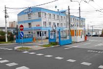 Sídlo Dopravního podniku měst Chomutova a Jirkova.