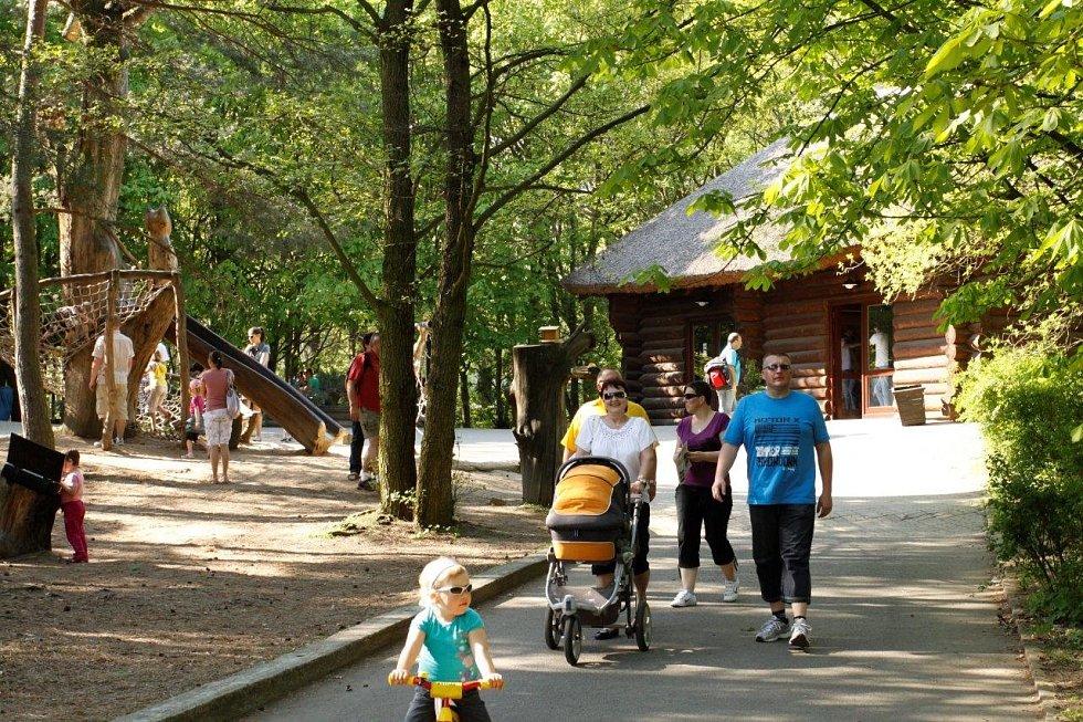 Chomutovský zoopark.