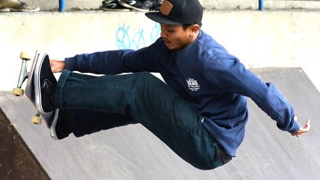 Legendy z Eldoráda. Chomutov hostil závody ve skateboardingu