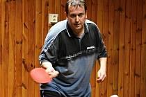 Na snímku hráč KST Jirkov Jan Pavlica.