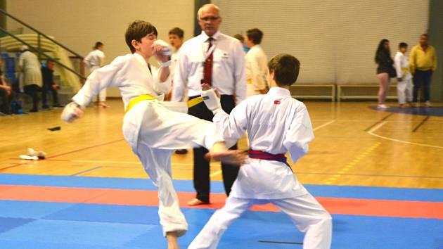 V Kadani se uskutečnil Krajský pohár v karate.