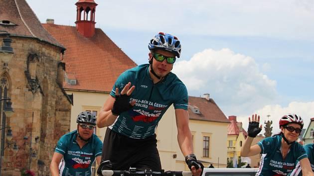 Cyklo-běh za Českou republiku bez drog v Chomutově