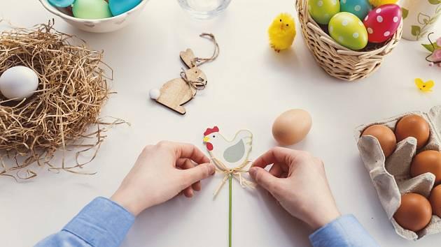 Vyrobte něco pěkného velikonočního, vyzvala jirkovská radnice občany města a jejich děti.