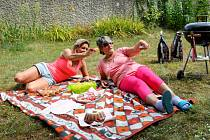 Nedělním piknikem se kadaňští senioři připojili k českému rekordu.
