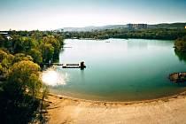Kamencové jezero v Chomutově