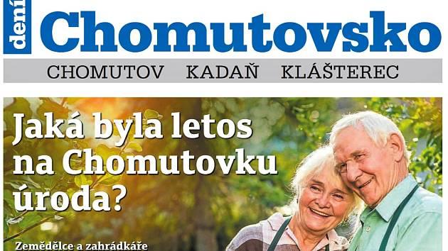 Týdeník Chomutovsko z 2. října 2018