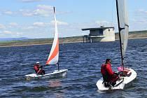 V Yacht Clubu Nechranice se konal Český pohár v jachtingu