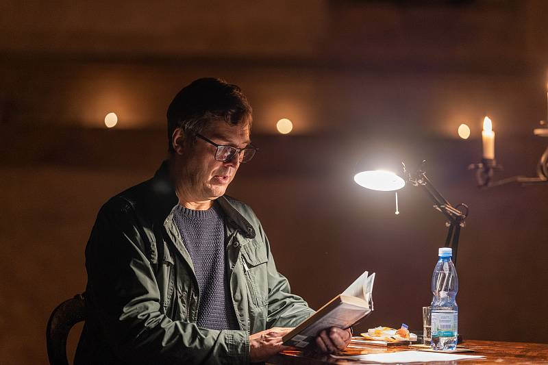 Noc literatury v Chomutově.