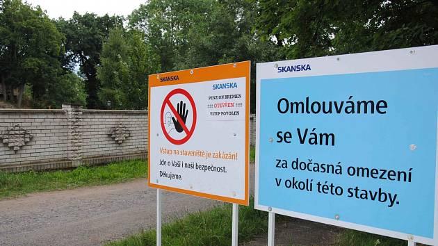 Olejomlýnský park.