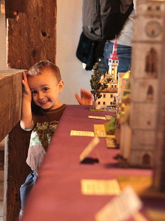 Výstava Věže ve věži v Kadani