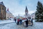 Adventní program s bobováním na chomutovském náměstí