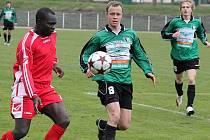 Fotbalisté FC Chomutov o víkendu remizovali 1:1 na hřišti vedoucích Jiren.