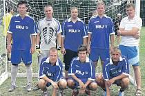 Vítězný tým - V.S.V. Chomutov.