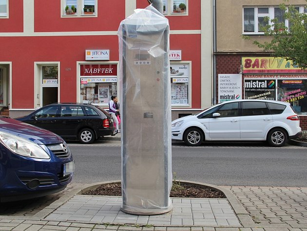 Nové parkovací automaty jsou připraveny na páteční premiéru