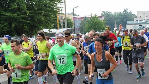 Jirkovský crossmarathon.