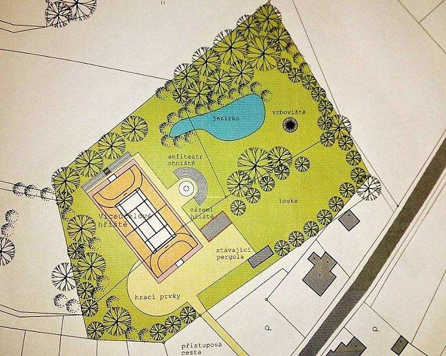 Klášterečan Jaroslav Krajbiš například navrhuje umístit do klášterecké jeseně nové hřiště satraktivními moderními hracími prvky.