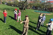 Děti v chomutovské MŠ Alešova
