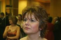 Herečka Ivana Andrlová.