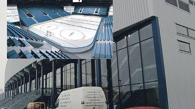 UŽ JE HOTOVO. Stadion bude brzy sloužit sportovcům. Nebude město na jeho provozu tratit? Ve výřezu vizualizace vnitřku