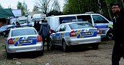 Policie na místě úmrtí mladého muže