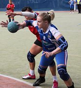 Snímek z utkání Chomutov - Tymákov.