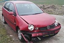 U Bandy se střetla dvě osobní vozidla