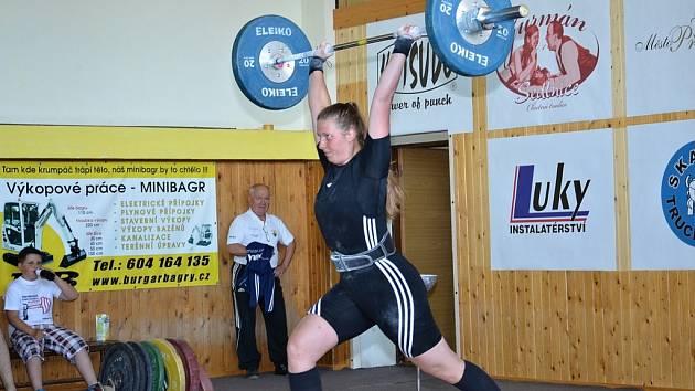 Karolína Puschnerová si vytvořila osobní rekord