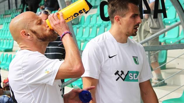 Patrik Gedeon a Marek Vait (zleva).