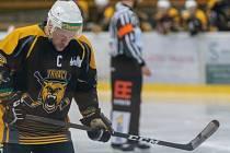 Jakub Trefný, ještě jako kapitán hokejové Kadaně.