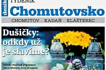 Týdeník Chomutovsko z 30. října 2018