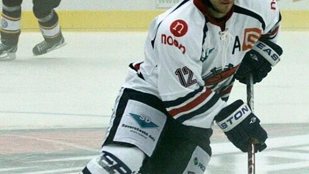 Na snímku chomutovský Petr Jíra.
