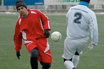 APOLLO CUP 2009. Po prohře s Ledvicemi v prvním kole si fotbalisté Ervěnic v Souši připsali bod proti Postoloprtům.