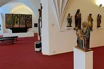 Oblastní muzeum v Chomutově v budově radnice.