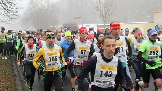 Na start 40. ročníku Zimního běhu Bezručovým údolím se postavilo 256 mužů a žen.