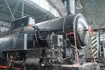 """""""OCHUTNÁVKA"""". V depu bude k vidění více než semdesát kusů železniční techniky."""