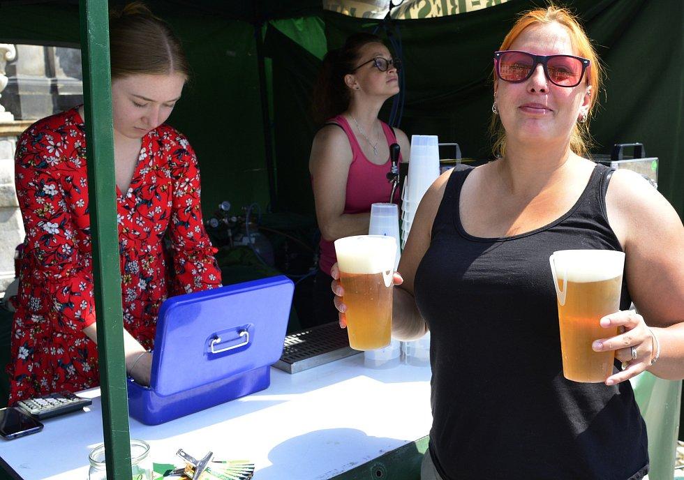 Pivní slavnosti v Kadani.