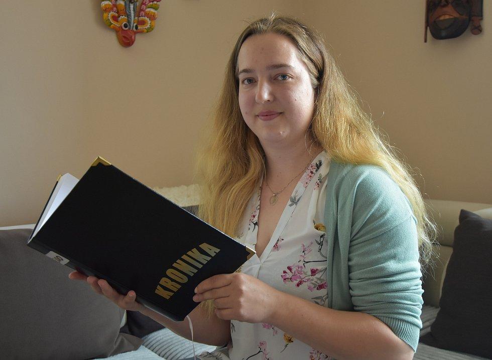 Kronikářka Karolína Plchová.