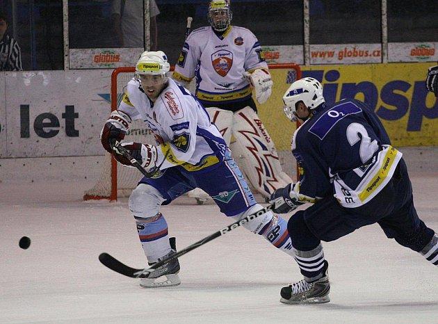 Snímek ze zápasu Chomutov - Plzeň, který se nedohrál kvůli výpadku proudu.