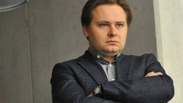 Jaroslav Veverka mladší, generální manažer Pirátů Chomutov.