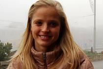 Ze sychravého Chomutova se Simona Baumrtová přesunula do slunečního Kataru.