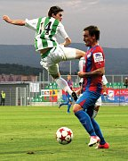 Snímek z utkání FC Chomutov - Viktoria Plzeň.