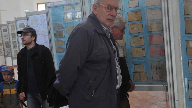 Mezinárodní filatelistická výstava v galerii Špejchar v Chomutově.