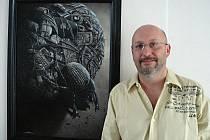 Malíř a ilustrátor Martin Zhouf.