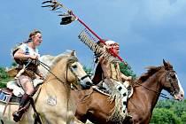 Indiánské války v Březně.
