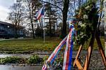 V Chomutově si dnes připomněli 31. výročí od sametové revoluce.