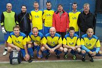 Vítězné družstvo L.A. Interiér Chrontoš.