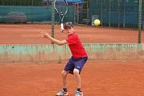 Matěj Laibl při tréninku v Jirkově